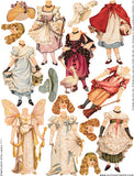 Fairy Tale Costumes Collage Sheet