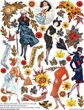 Falling Leaves Collage Sheet