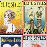 Fashion Posters & Magazine Covers Collage Sheet