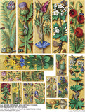 Floral Panels Collage Sheet