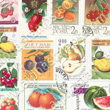 Fruit Postage Stamps Half Sheet