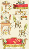 Furnishings Collage Sheet
