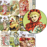 Garden Rhymes Tin Covers Collage Sheet