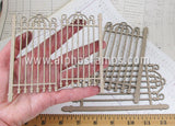 2 Sets of Chipboard Gates