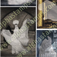 Ghosts Collage Sheet