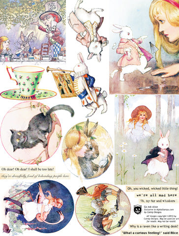 Go Ask Alice Collage Sheet