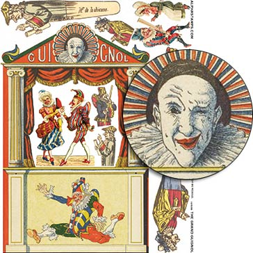 The Grand Guignol Collage Sheet