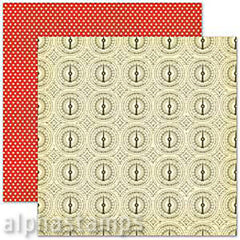 Heat Wave (Thermometer) Scrapbook Paper