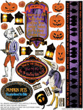 Halloween Carnival #4 Collage Sheet