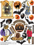 Halloween Carnival Rides #4 Collage Sheet
