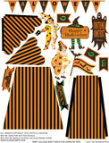 3D Halloween Tent Collage Sheet
