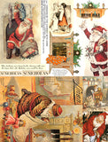 Hanging by the Chimney with Care Collage Sheet