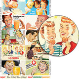 Happy Fifties Food Half Sheet
