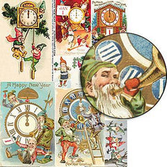 Happy New Year Collage Sheet