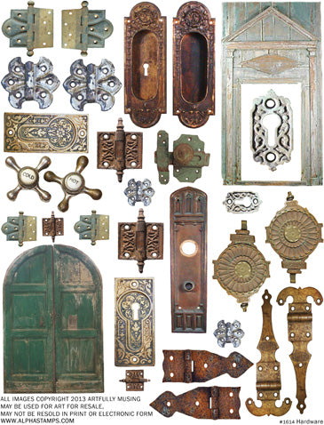 Hardware Collage Sheet