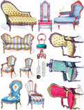 Have a Seat Collage Sheet