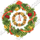 Holiday Wreaths Half Sheet