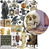 House of Horrors #1 Collage Sheet