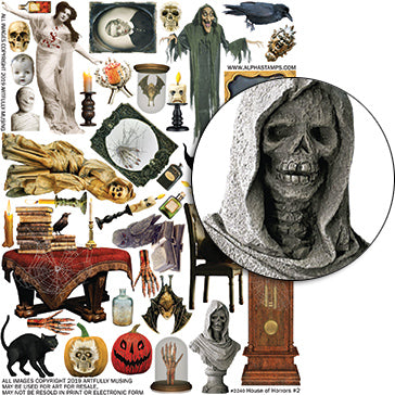 House of Horrors #2 Collage Sheet