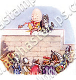 Humpty Dumpty #2 Collage Sheet