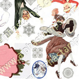 Ice Follies Collage Sheet