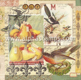 Autumn Labels Collage Sheet