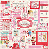 Lovestruck Cardstock Stickers*