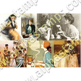 Ladies Tea Collage Sheet
