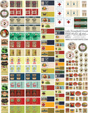 Little Household Goods Collage Sheet