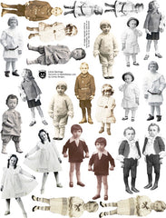 Little Darlings Collage Sheet