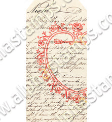 Love Letter Tags Collage Sheet