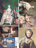 Madame de Pompadour Collage Sheet