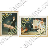 Vintage Magician Posters Collage Sheet