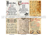Magical Book Pages - Large Version - Set Download