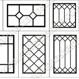 Matchbox Cabinet Windows Half Sheet