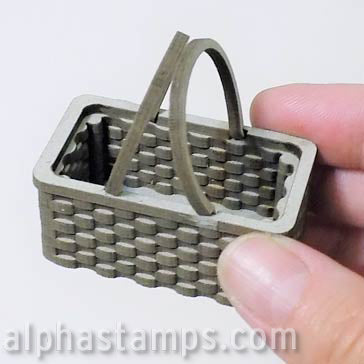 Mini Picnic Basket - 1:12 Scale