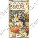 Miss Muffet and the Spider Collage Sheet