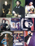 Memento Mori Portraits Collage Sheet
