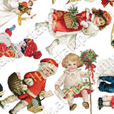 More Christmas Cuties Collage Sheet