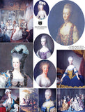 More Marie Antoinette Collage Sheet