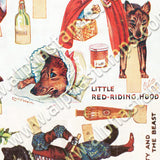 More Wain Cat Paper Dolls Collage Sheet