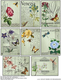 Nature ATC Backgrounds Collage Sheet
