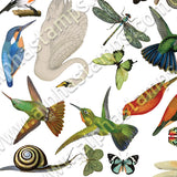 Nature's Creatures Collage Sheet