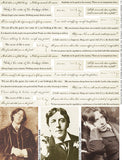 Oscar Wilde Quotes Collage Sheet
