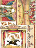 Paper Theatre Cirque Collage Sheet