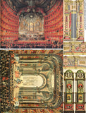Paper Theatre Opera Houses Collage Sheet