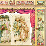 Pink Children's Theatre Collage Sheet