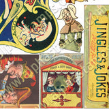 Punch & Judy Theater Collage Sheet