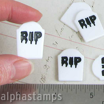 Resin RIP Tombstones*