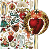 Saints and Sinners Collage Sheet
